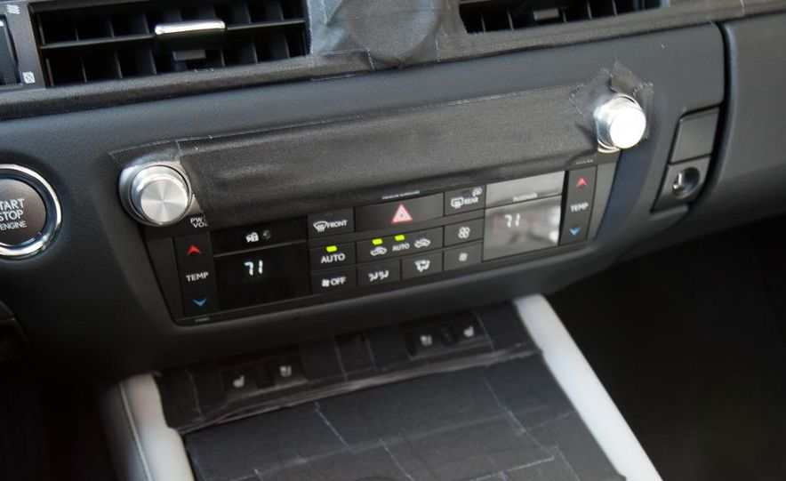 2012 Lexus GS350 (prototype) - Slide 48