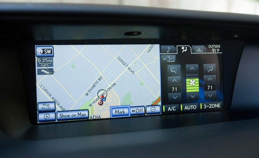 2012 Lexus GS350 (prototype) - Slide 45
