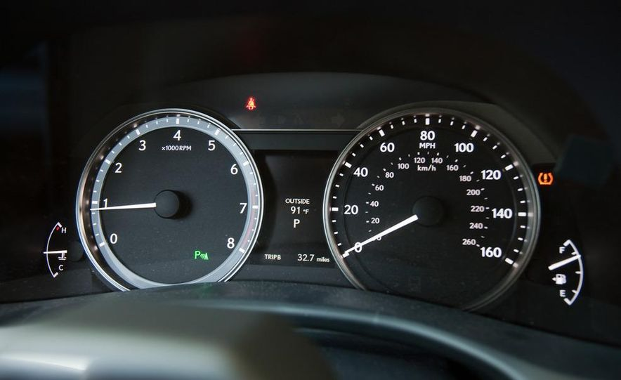 2012 Lexus GS350 (prototype) - Slide 46