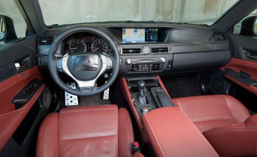 2012 Lexus GS350 (prototype) - Slide 44