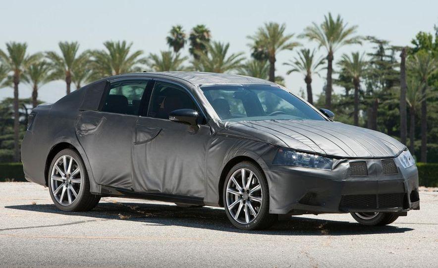 2012 Lexus GS350 (prototype) - Slide 3