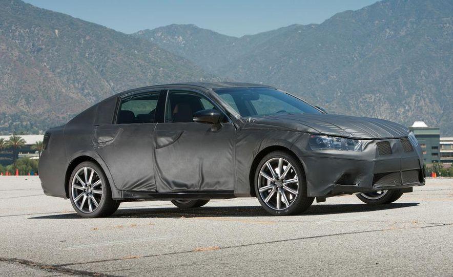 2012 Lexus GS350 (prototype) - Slide 5
