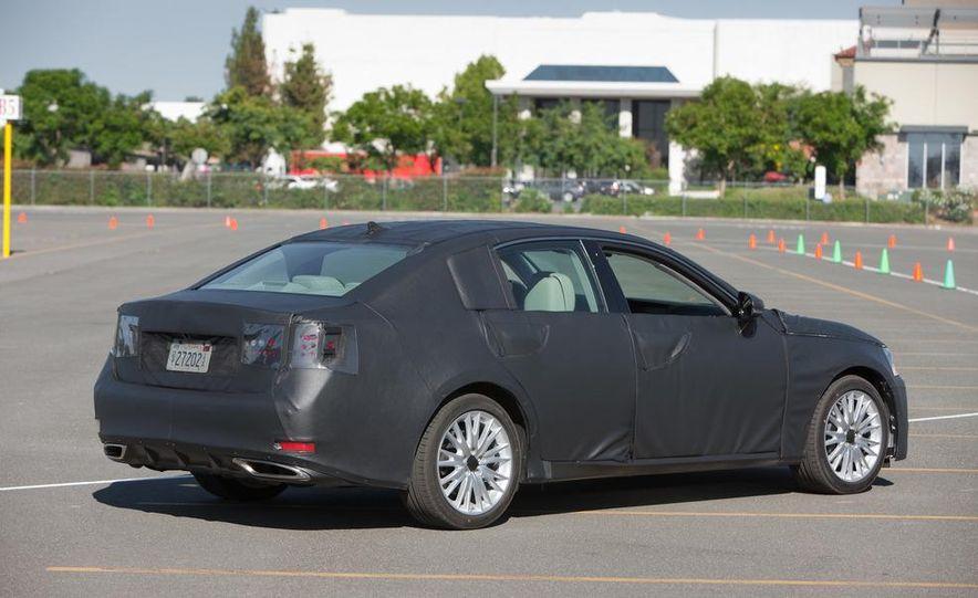 2012 Lexus GS350 (prototype) - Slide 15