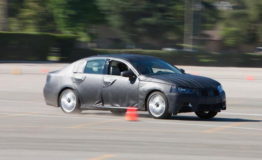 2012 Lexus GS350 (prototype) - Slide 24