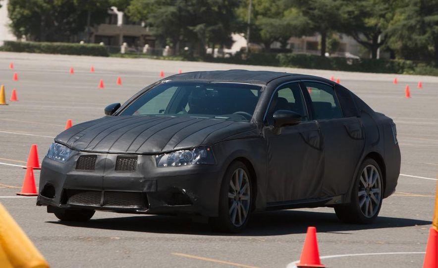 2012 Lexus GS350 (prototype) - Slide 32