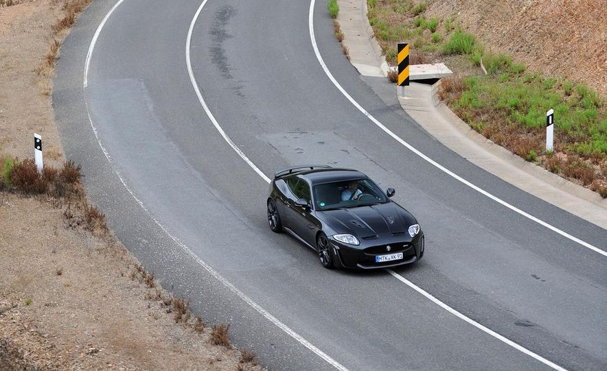 2012 Jaguar XKR-S - Slide 31