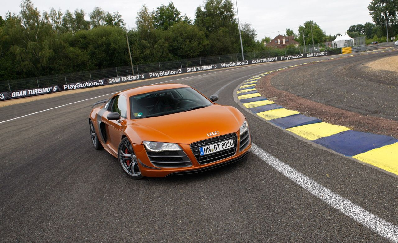 Camp Le Mans: A Night with Audi's New R8 GT