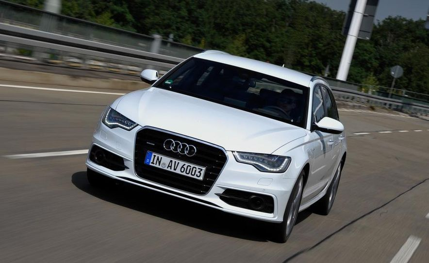 2012 Audi A6 Avant 3.0 TDI S-line - Slide 10