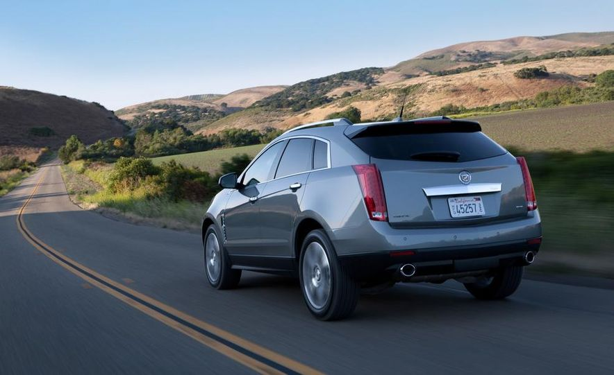 2012 Cadillac SRX - Slide 9