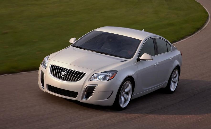 2012 Buick Regal GS (prototype) - Slide 9