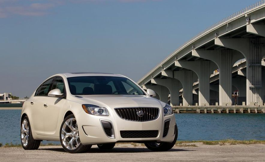 2012 Buick Regal GS (prototype) - Slide 11