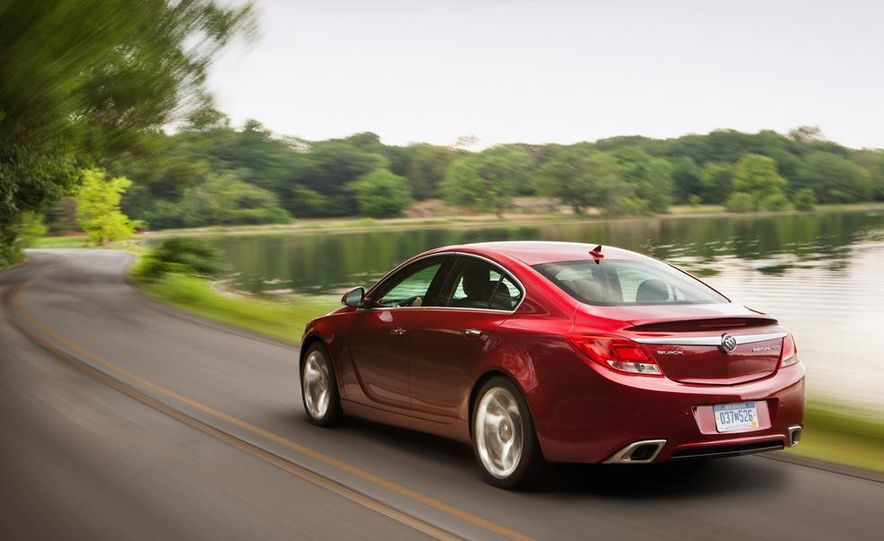 2012 Buick Regal GS (prototype) - Slide 18