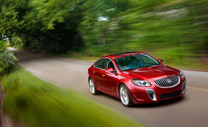 2012 Buick Regal GS (prototype) - Slide 19