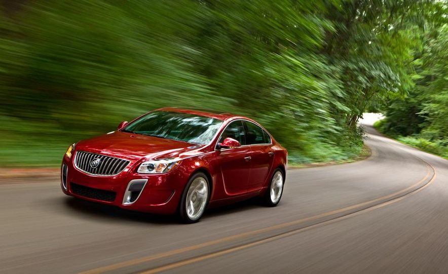 2012 Buick Regal GS (prototype) - Slide 21