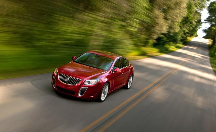 2012 Buick Regal GS (prototype) - Slide 22