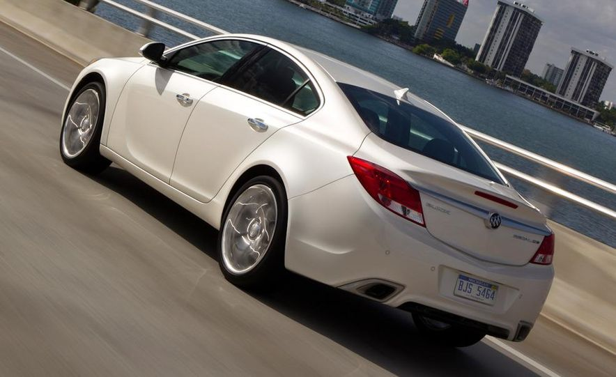 2012 Buick Regal GS (prototype) - Slide 12