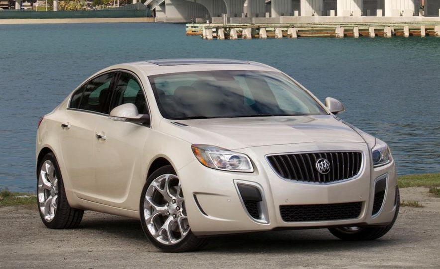 2012 Buick Regal GS (prototype) - Slide 13
