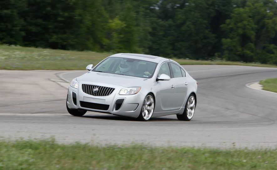 2012 Buick Regal GS (prototype) - Slide 2