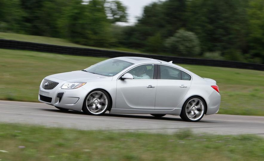 2012 Buick Regal GS (prototype) - Slide 3