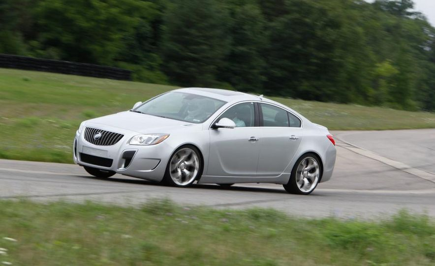 2012 Buick Regal GS (prototype) - Slide 1