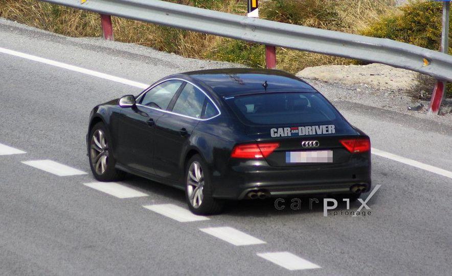 2014 Audi RS7 (spy photo) - Slide 7