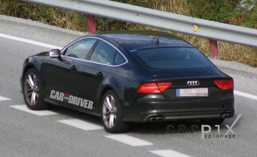 2014 Audi RS7 (spy photo) - Slide 8