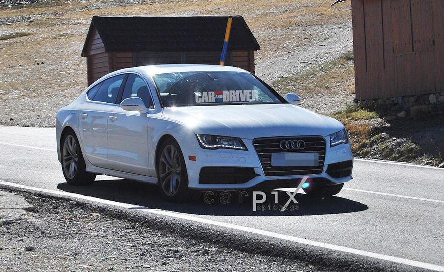 2014 Audi RS7 (spy photo) - Slide 9