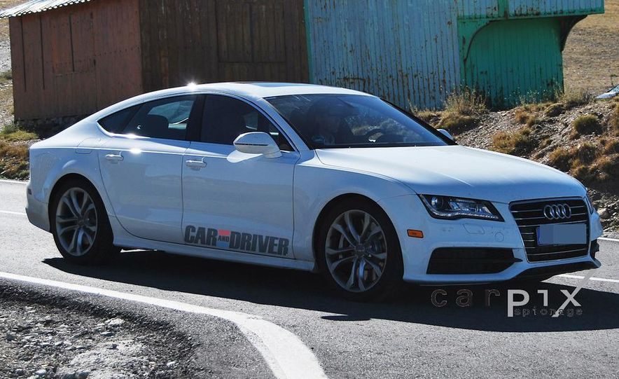 2014 Audi RS7 (spy photo) - Slide 10