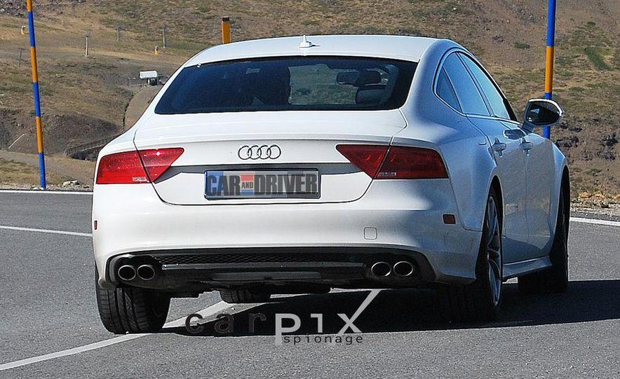 2014 Audi RS7 (spy photo) - Slide 13