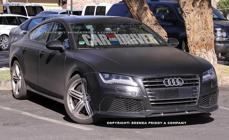 2014 Audi RS7 (spy photo) - Slide 1