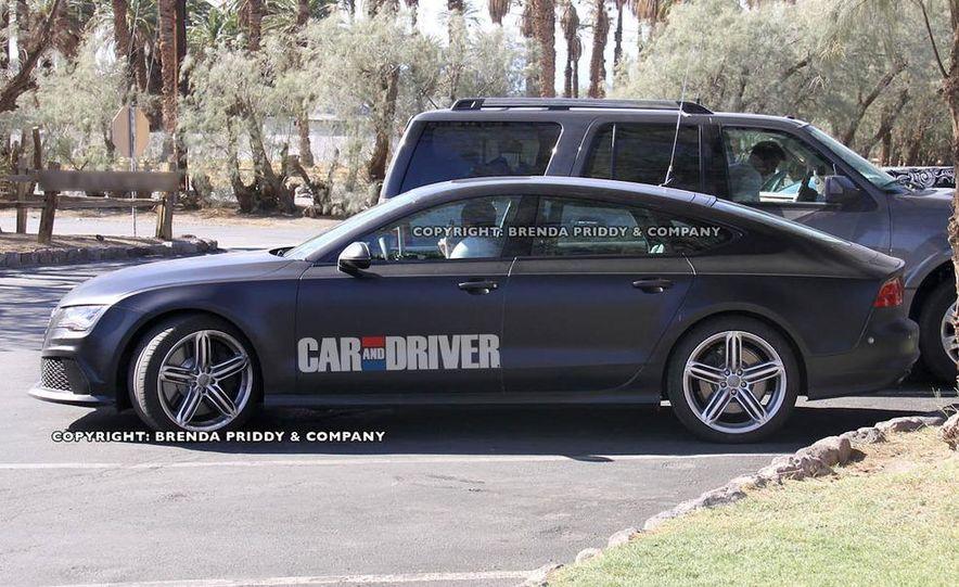 2014 Audi RS7 (spy photo) - Slide 2