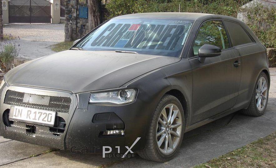 2013 Audi A3 (spy photo) - Slide 3