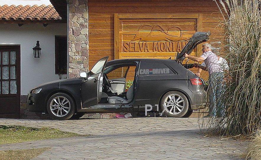2013 Audi A3 (spy photo) - Slide 4