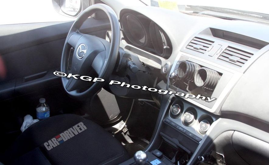 2013 Mazda 6 hybrid (spy photo) - Slide 10