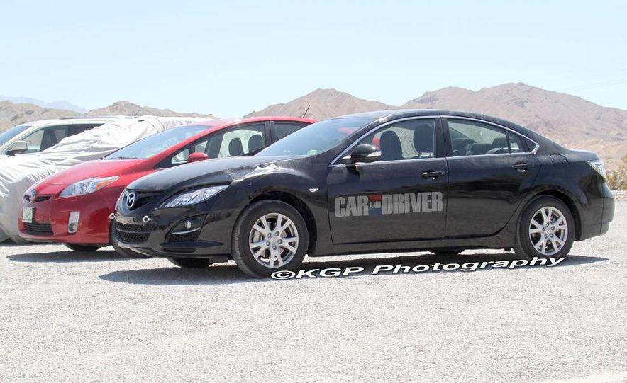 2013 Mazda 6 hybrid (spy photo) - Slide 3