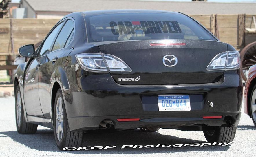 2013 Mazda 6 hybrid (spy photo) - Slide 4