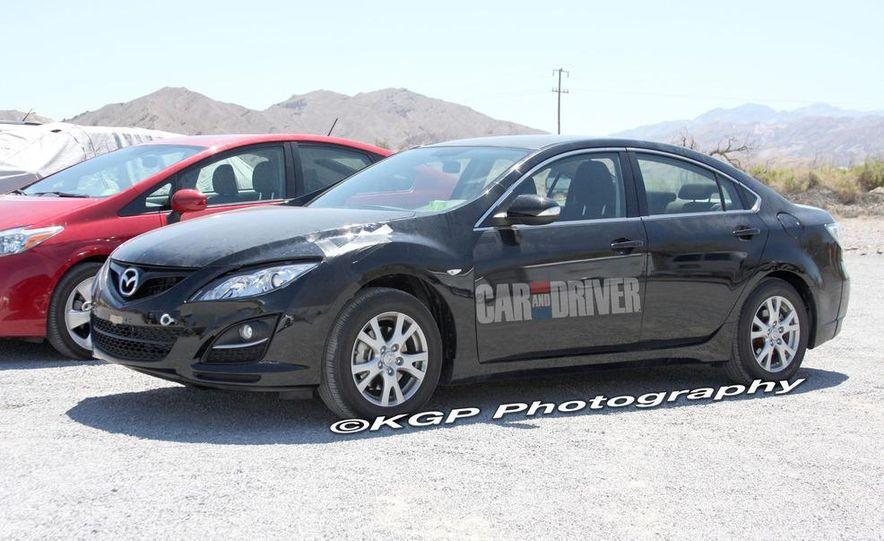 2013 Mazda 6 hybrid (spy photo) - Slide 6