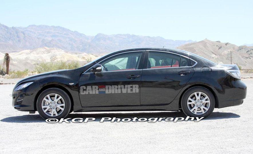 2013 Mazda 6 hybrid (spy photo) - Slide 1