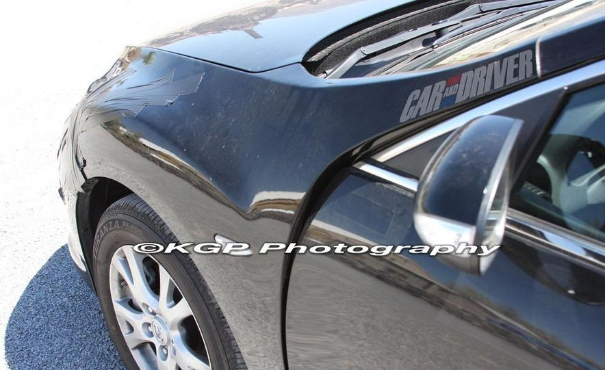2013 Mazda 6 hybrid (spy photo) - Slide 9