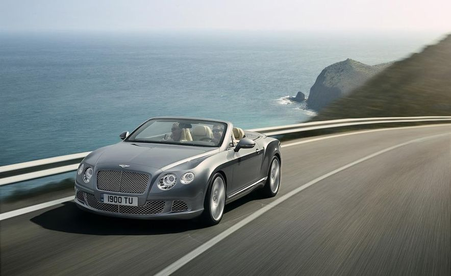 Bentley Continental GTC - Slide 1