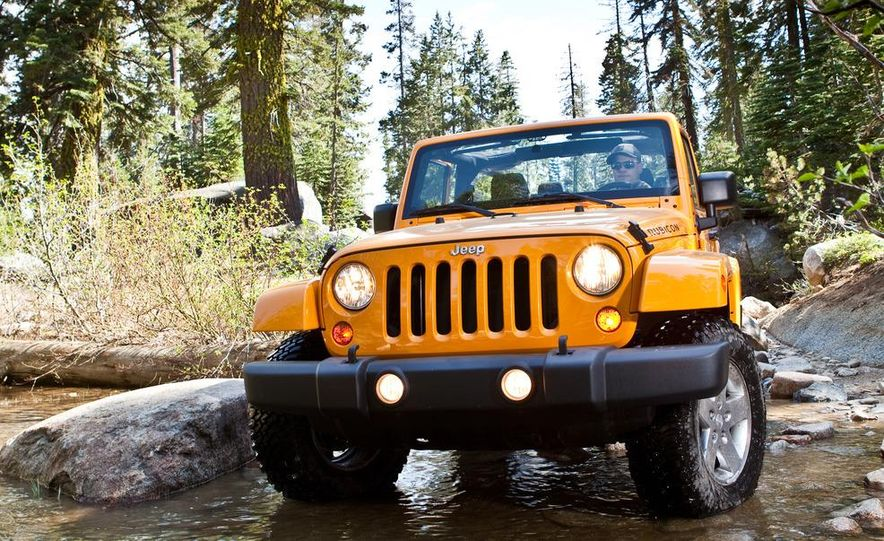 2012 Jeep Wrangler Rubicon - Slide 8