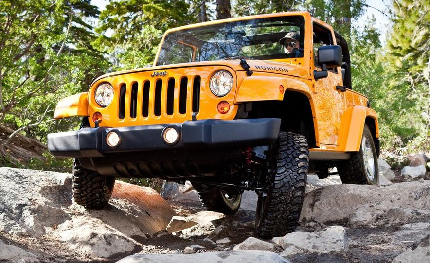 2012 Jeep Wrangler Rubicon - Slide 11