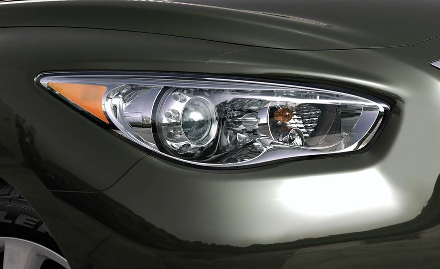 2013 Infiniti JX crossover concept - Slide 22