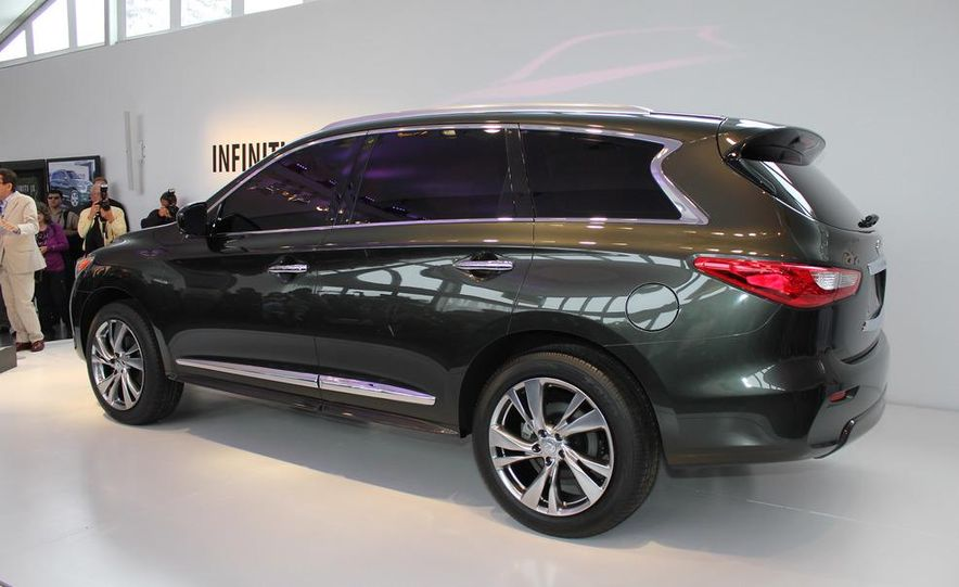 2013 Infiniti JX crossover concept - Slide 10