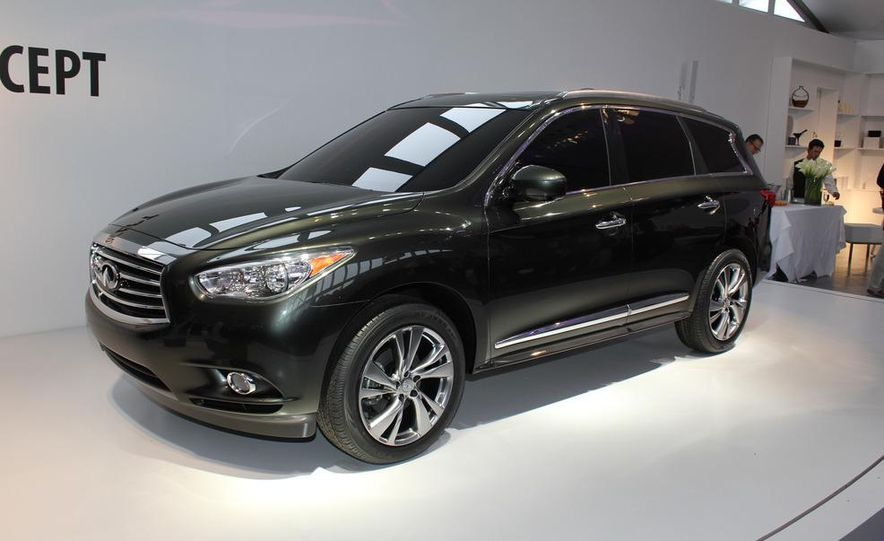 2013 Infiniti JX crossover concept - Slide 1