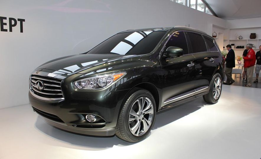 2013 Infiniti JX crossover concept - Slide 2