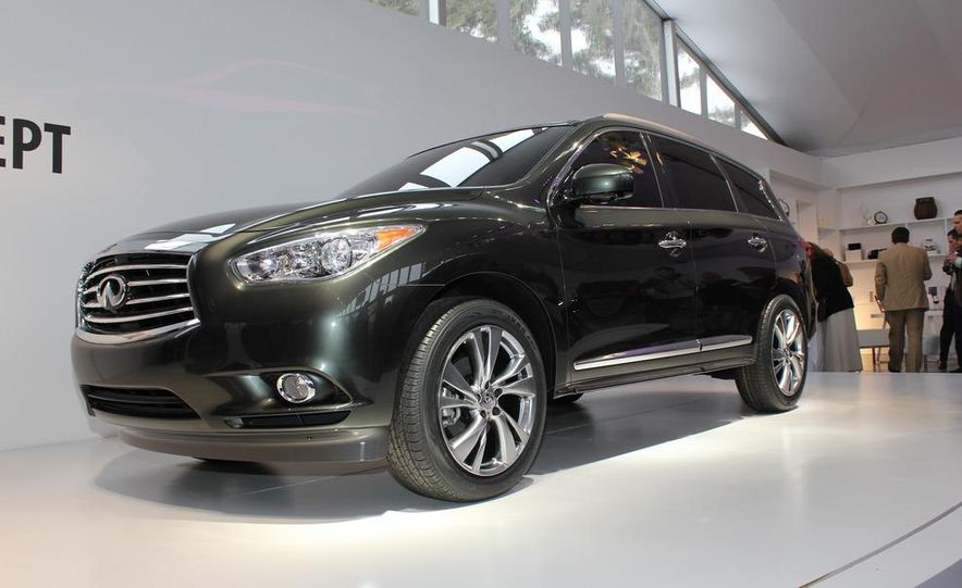 2013 Infiniti JX crossover concept - Slide 3