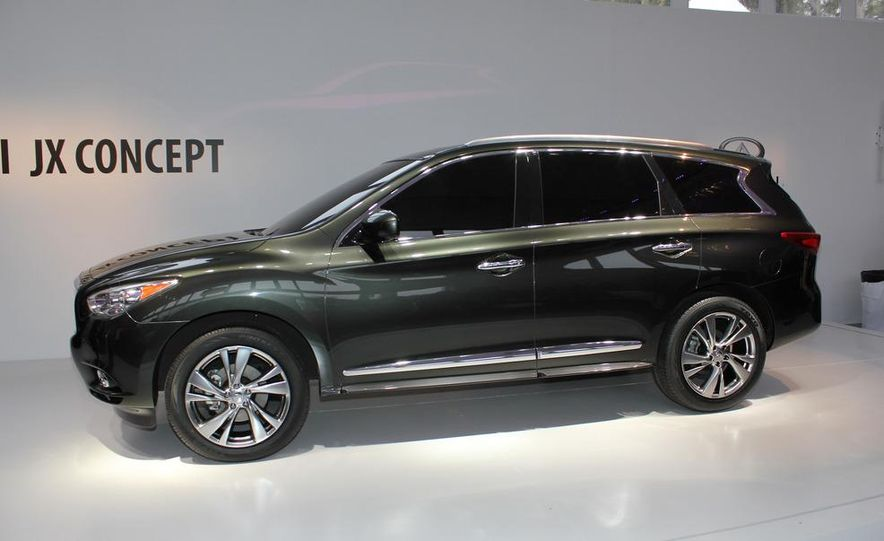 2013 Infiniti JX crossover concept - Slide 7