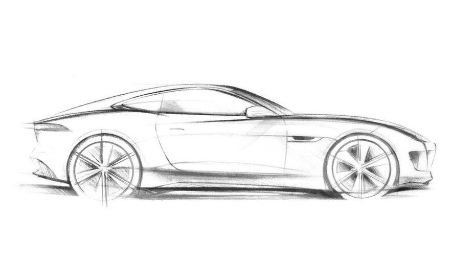 Jaguar C-X16 concept (artist's rendering) - Slide 1