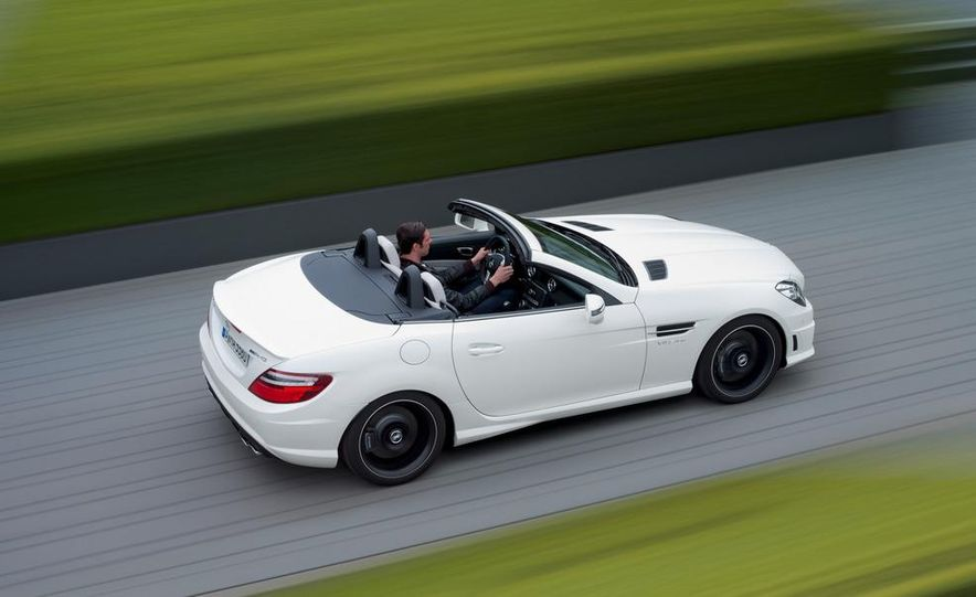2012 Mercedes-Benz SLK55 AMG - Slide 12